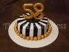 Торт на 58-летие