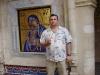 Мозаичное панно Киккской иконы Божией Матери