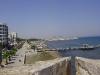 Из крепости открывается неплохой вид на побережье Ларнаки