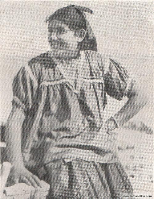 Еврейская девушка из Алжира