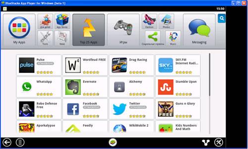 ТОП 25 приложений Андроид которые можно установить в эмуляторе под