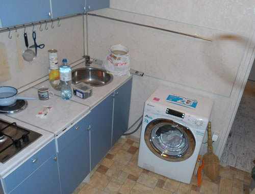 результат ремонта кухни