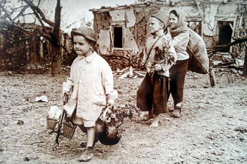 Девочка и война. Возвращение в родной дом. Крым. 1944