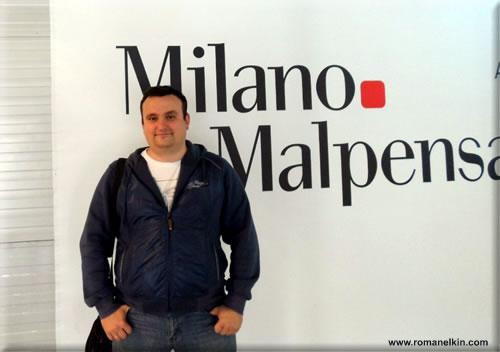 Роман Елькин в Италии