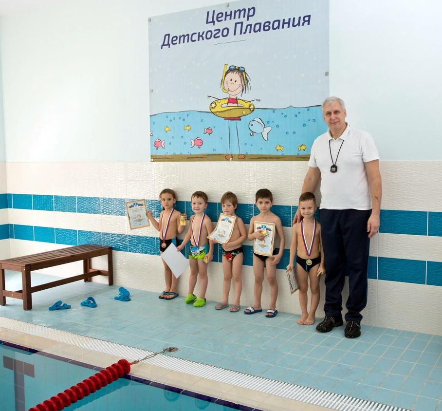 Команда пловцов Геленджика