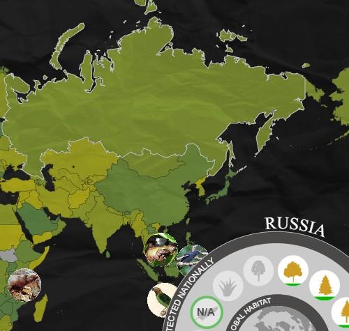 Биологическое разнообразие по странам мира