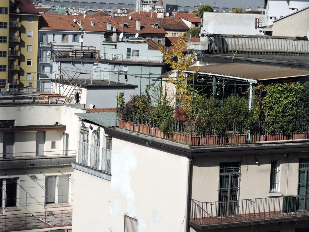 Сады на крышах Милана