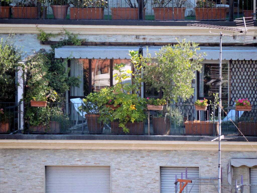 Крыши Милана